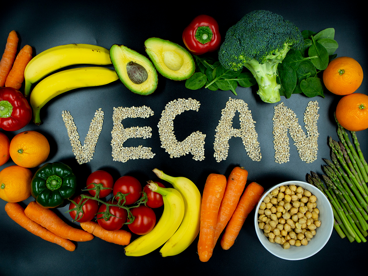 pilihan vegan di pedagang joe